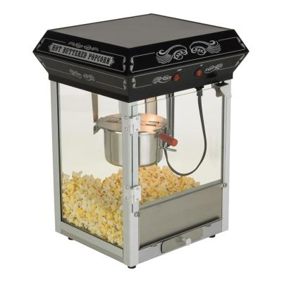 Gatsby 4 oz Popcorn Machine Black