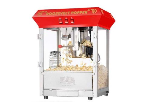 Nostalgia KPM-508 Old-Fashioned Kettle Popcorn Maker
