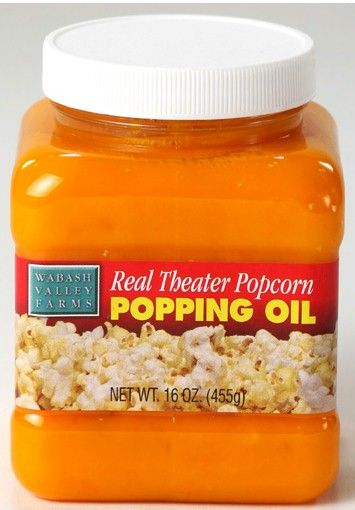 Real Theater Popcorn Popping Oil